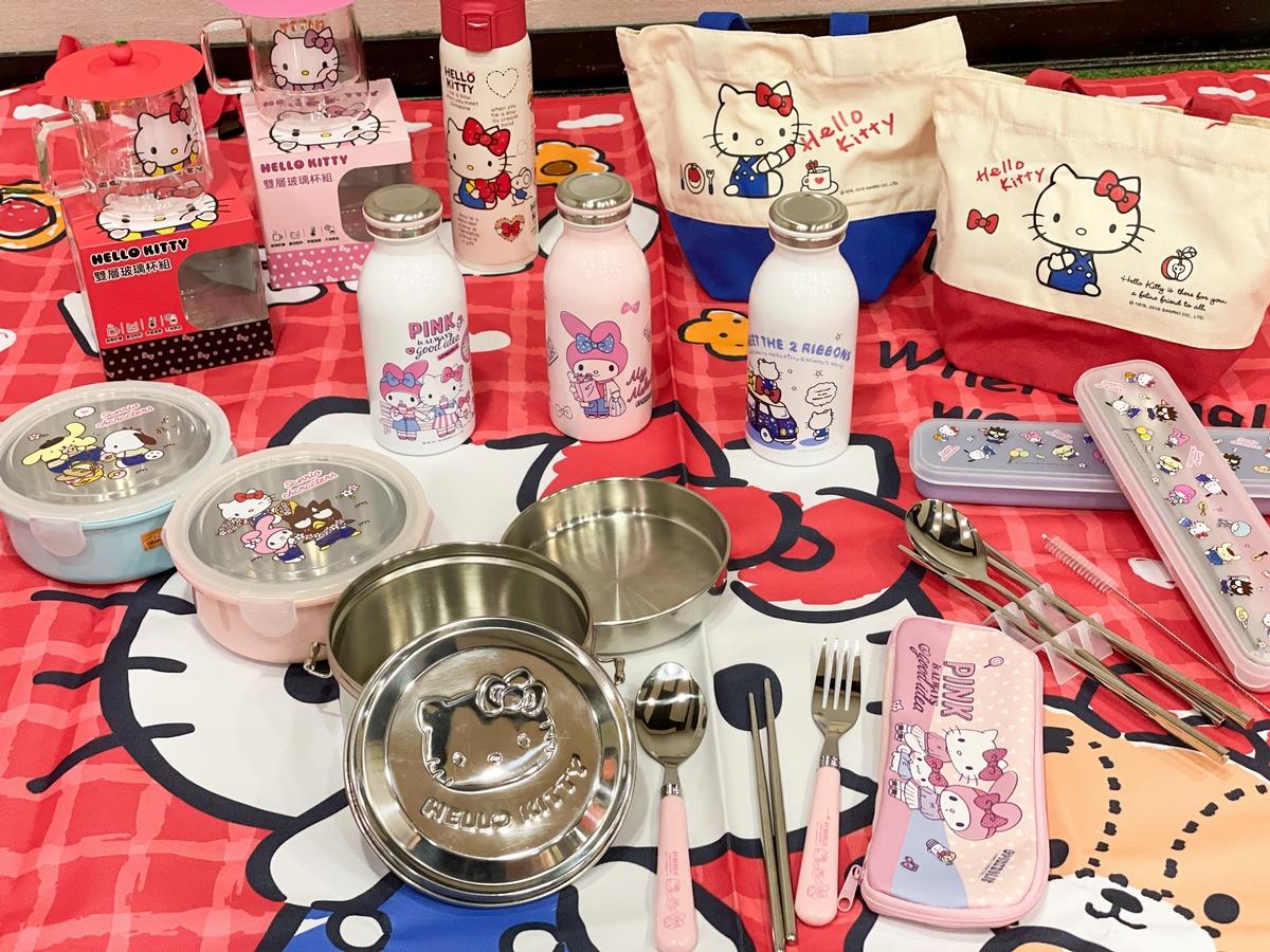 Hello Kitty迷、鬼滅迷看過來!全家推超過20款周邊小物 「長效保溫瓶、多功能萬用墊、人氣角色玩偶」 必收!