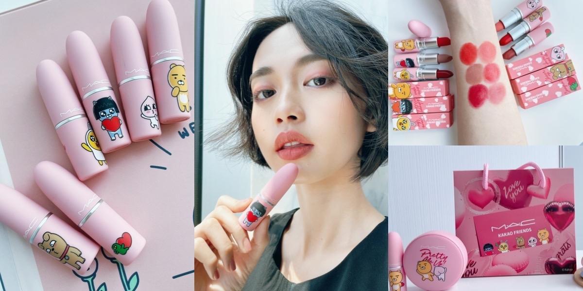 限量告白禮盒買就送!M·A·C 子彈唇膏和氣墊粉餅都有滿滿的 KAKAO FRIENDS,今夏絕對要擁有的炫萌單品一定要擁有!