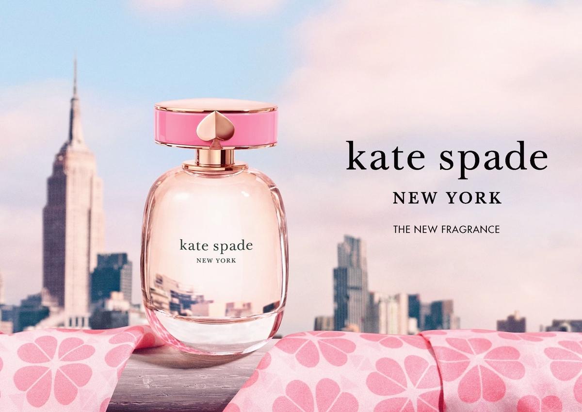 是女孩都會喜歡,KATE SPADE 香氛首度登台,甜美的莓果香味道,瞬間少女心爆開