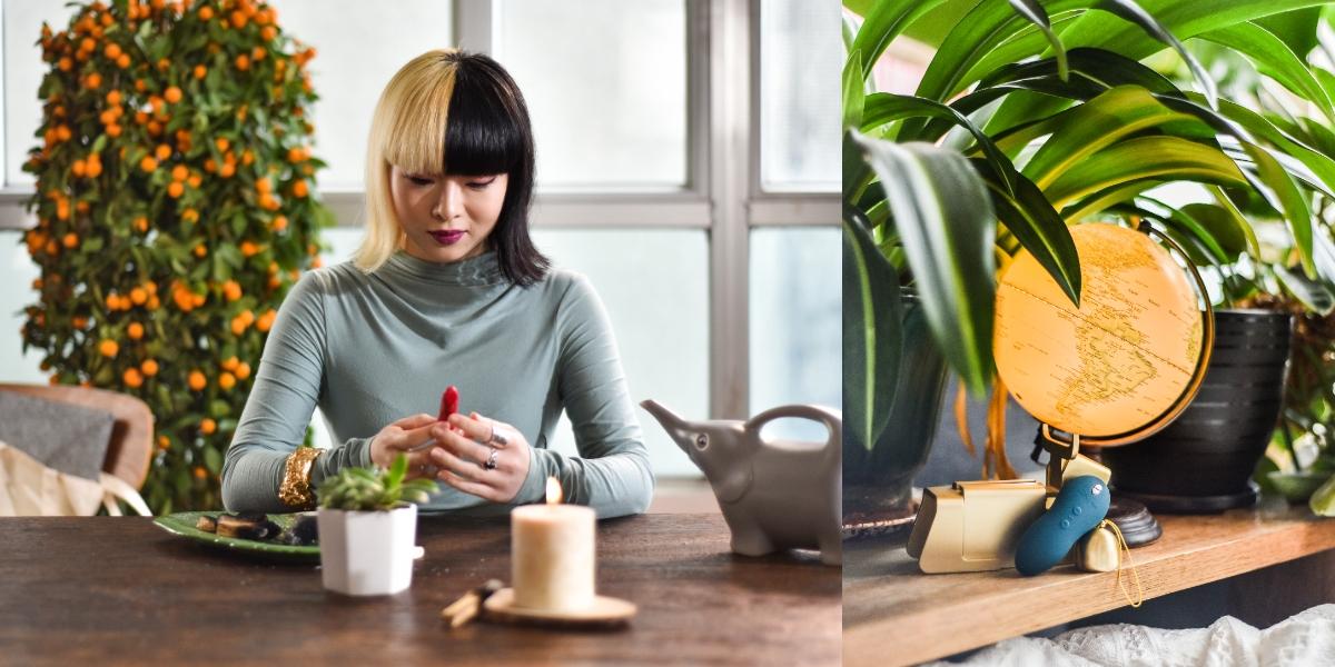 想催化感情、增進自我能量這樣做!香港風水室內設計師周亦彤4大開運秘訣公開,即使放愉悅玩具也通用