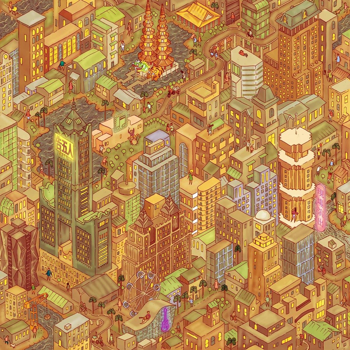 告五人 X英國插畫家跨界神合作!Tom Parker:告五人在這座城市找到了我