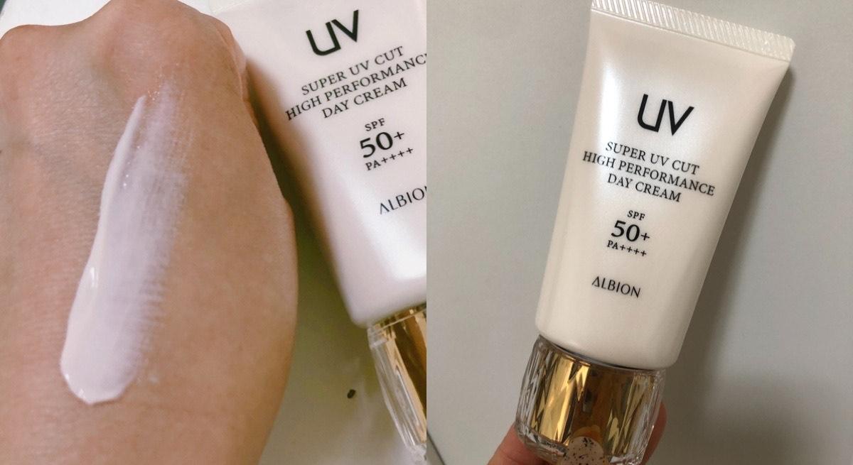防曬就是防老,不想年紀輕輕就曬出紋路,ALBION「超完美高效活妍隔離乳」為妳阻擋紫外線,就連膚色都幫妳顧好好啊