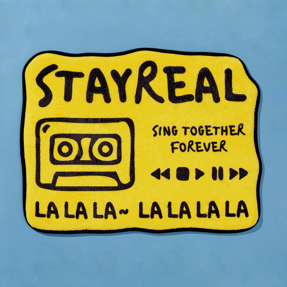 STAYREAL X 藍色小精靈跨界聯名 巨可愛藍潮重磅來襲!
