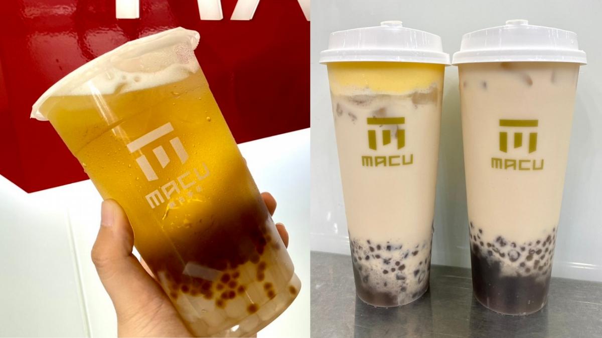 麻古茶坊7款「癮藏版」飲品一次公開!「布蕾搖滾波波奶茶、芝芝金萱三Q、珍芋奶茶」老饕必喝!