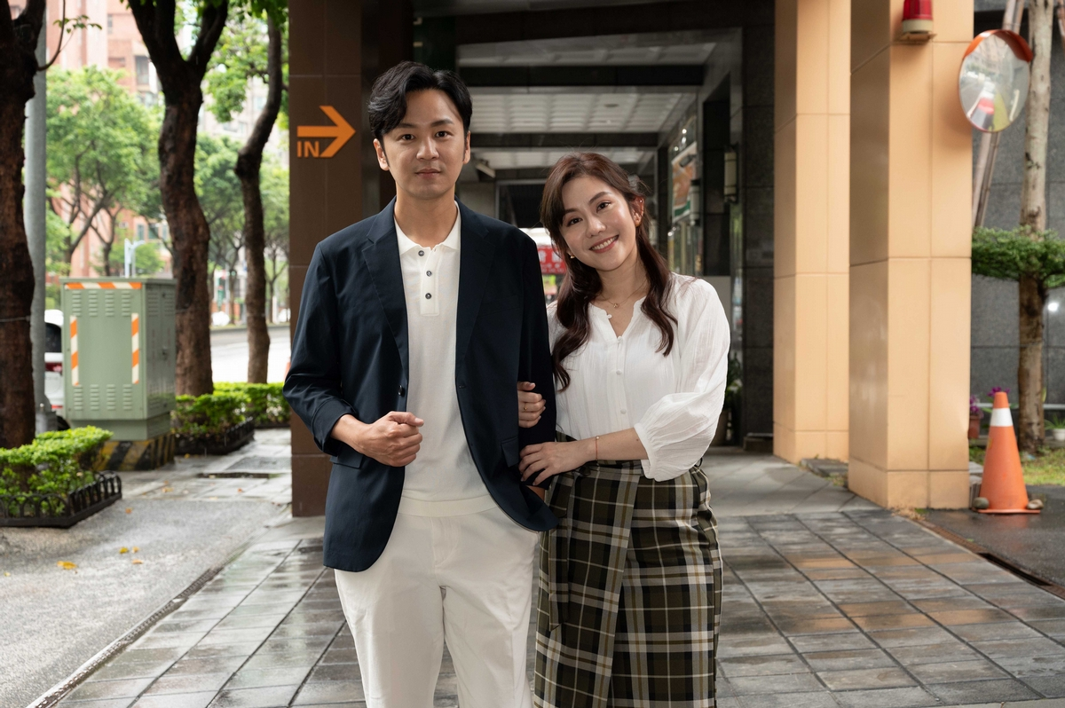 王宇婕搭檔張書偉演夫妻 搶先點菜「接著是坤達」