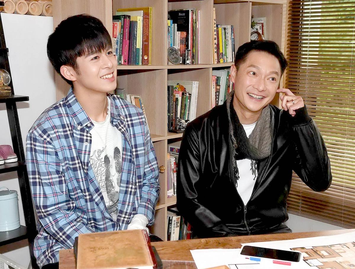 謝祖武「兩個兒子」同進北藝大戲劇系!自認花崗岩教育帶點溫度