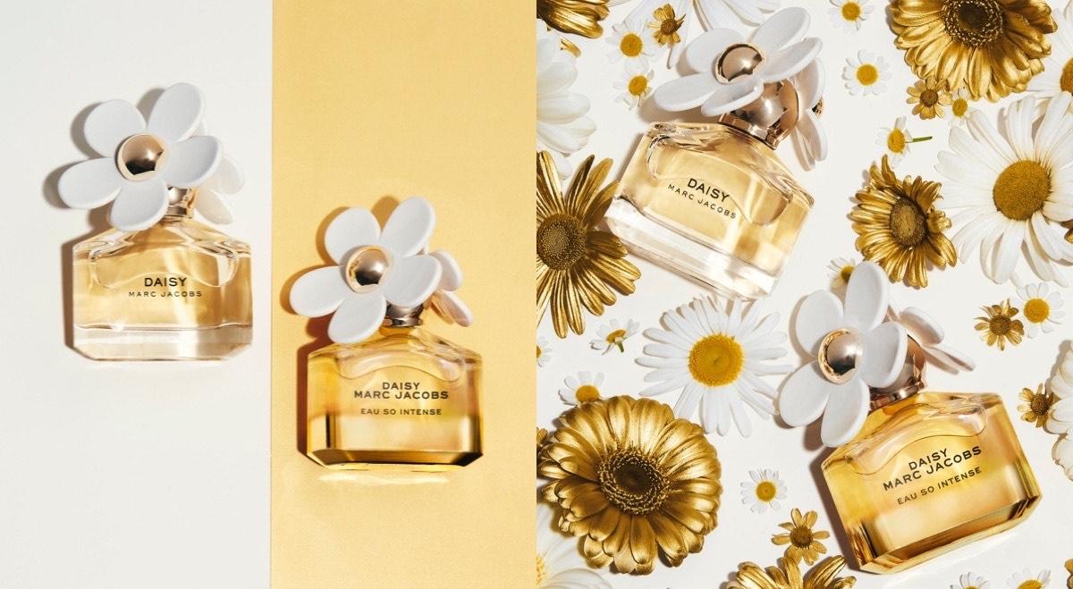 女孩最愛的花果香,就是MARC JACOBS「小雛菊嬌陽淡香精」,一噴就像奔跑在大自然中,享受沐浴在金色陽光
