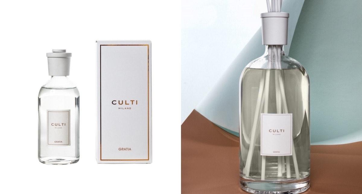 想念2021年米蘭的春天,或是喜歡清甜的玫瑰味,就要Cluti Milano「Gratia瑰奇恩霈」擴香瓶,讓你回家就捨不得出門