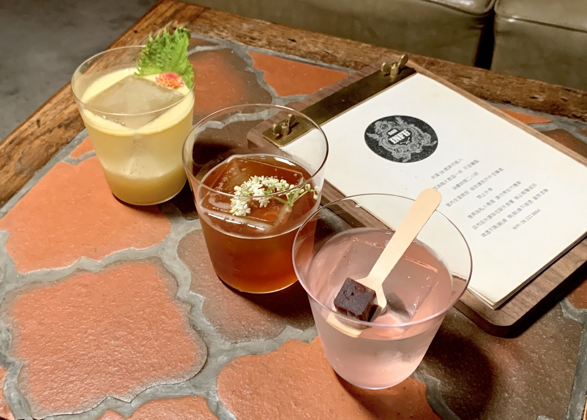 台南隱藏版老宅酒吧「Bar INFU」3款全新調酒、獨家下酒菜推薦!一喝竟有檳榔、紅豆味還有招牌「海水」必點