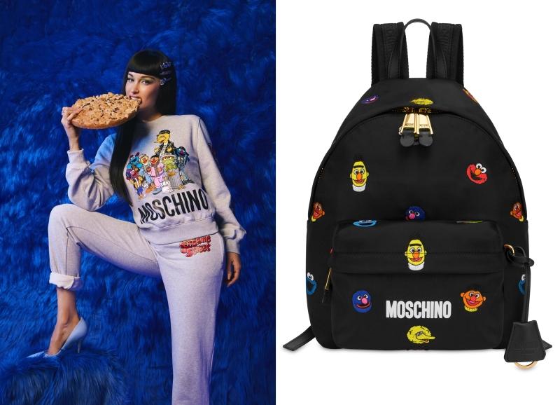 Moschino與芝麻街搞聯名!Elmo、餅乾怪獸一身嘻哈變成街頭潮人