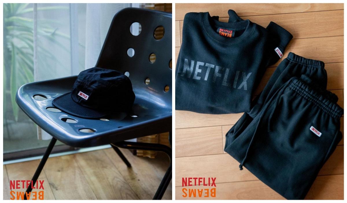 簡直是懶人追劇神器!Beams X Netflix 聯名系列「膝上零食架、字母頸枕、黑紅靠墊」有夠潮,每款都燒到必入手