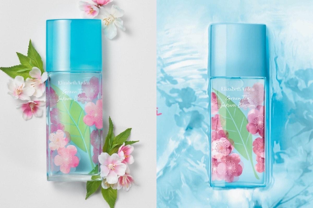 伊麗莎白雅頓「綠茶粉嫩櫻花香水」幸福上市,輕盈的香氛輪廓,清爽的氣息讓居家氛圍芳香又療癒