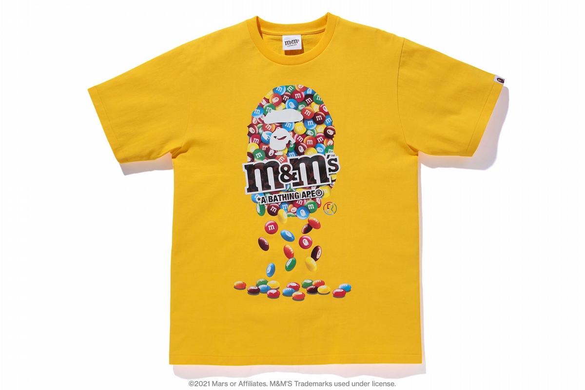 猿人頭跳上巧克力豆!BAPE X M&M'S聯手送上彩色療癒力量