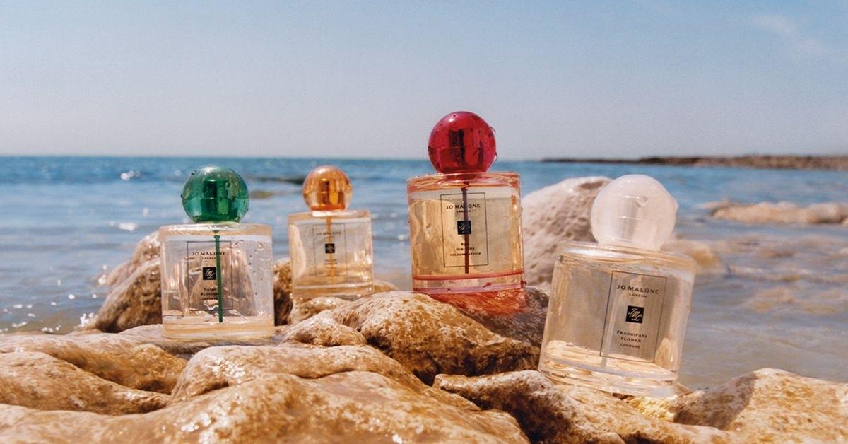 在家工作 療癒的香氛不能少!就用Jo Malone 熱帶島嶼花園系列旅行組 的五款香味 讓心情度假去吧!
