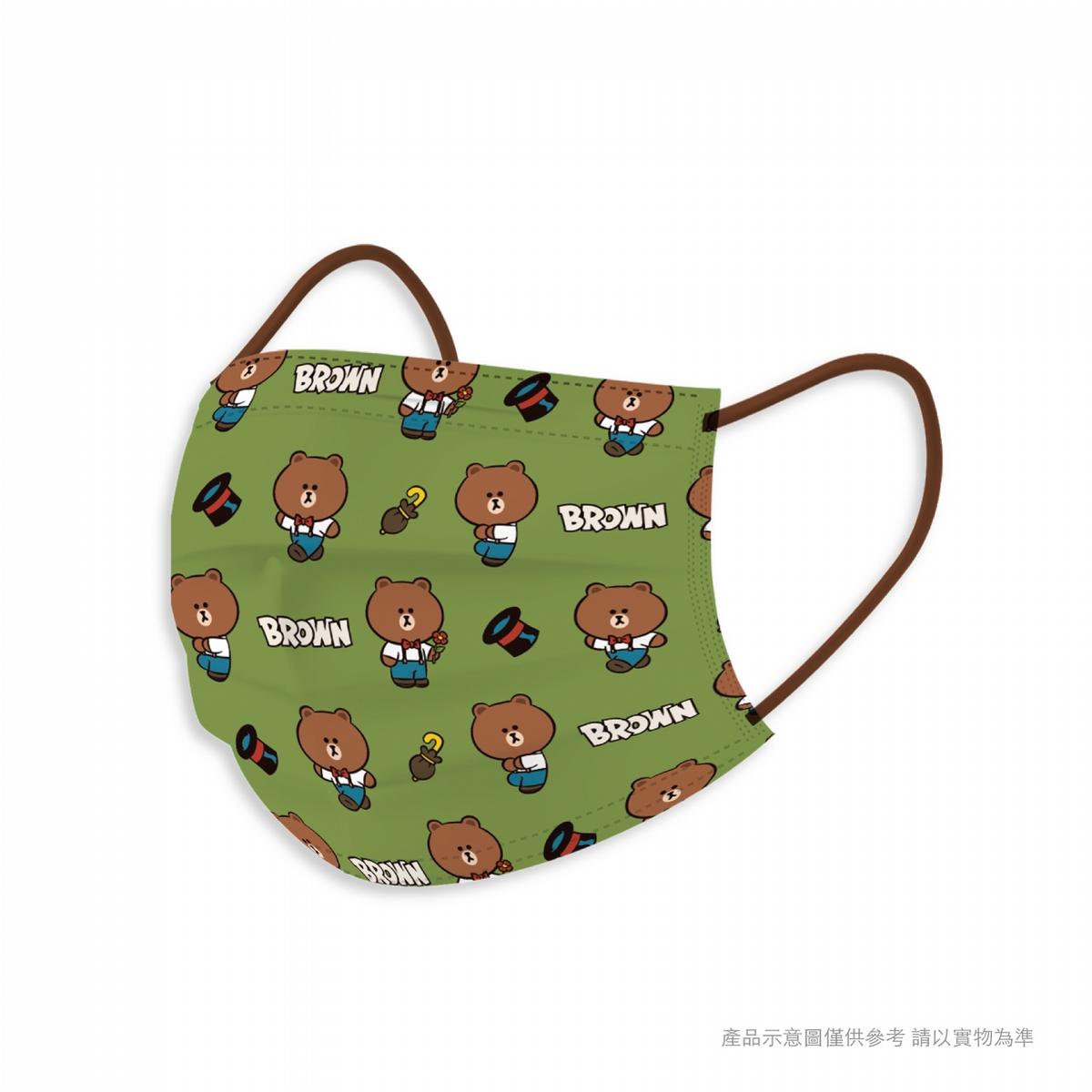 防疫不鬆懈!復古熊大、兔兔、三麗鷗人氣角色超萌口罩戴起來!