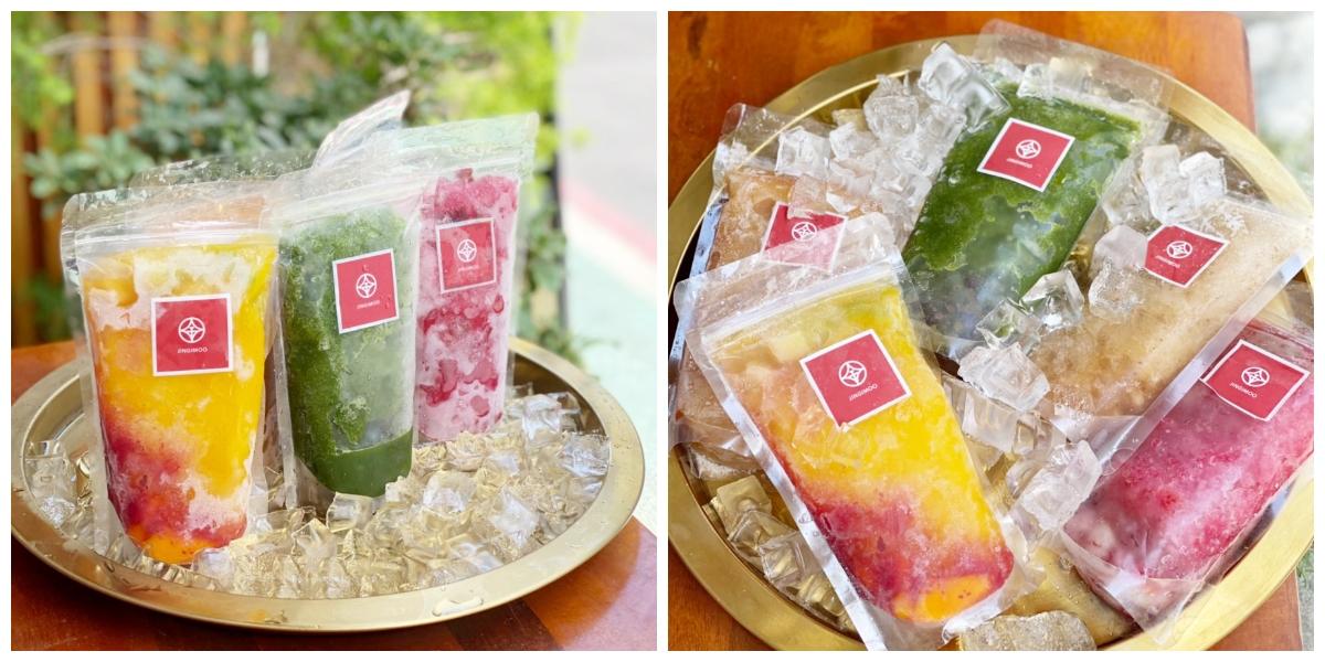 東門人氣日式刨冰店金雞母「宅刨冰」買十送一!玫瑰覆盆子荔枝、黃檸檬、芒果5種口味,在家DIY冰沙調酒最涼快