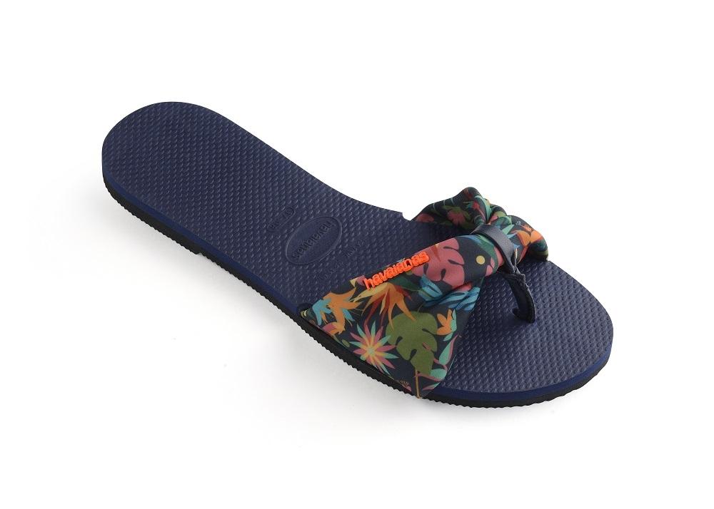 夏天就是要穿人字拖!Havaianas繽紛印花+綁帶 美麗再進化