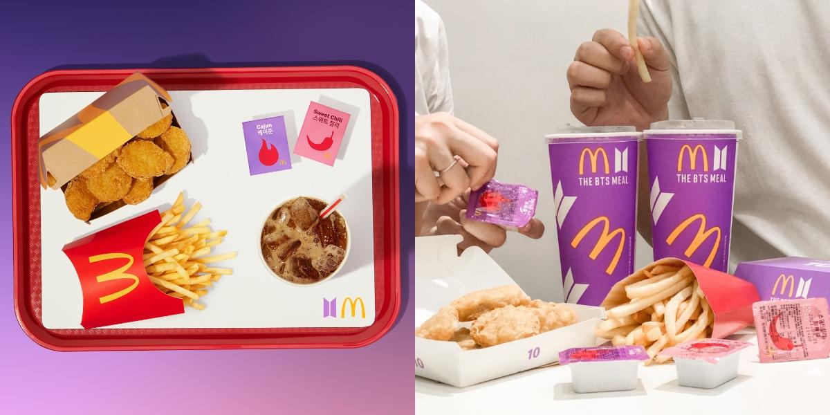 BTS防彈少年團聯名麥當勞「THE BTS MEAL」台灣也吃得到!期間限定包裝「10塊雞塊+全新醬料」6/9三大外送平台開始販售