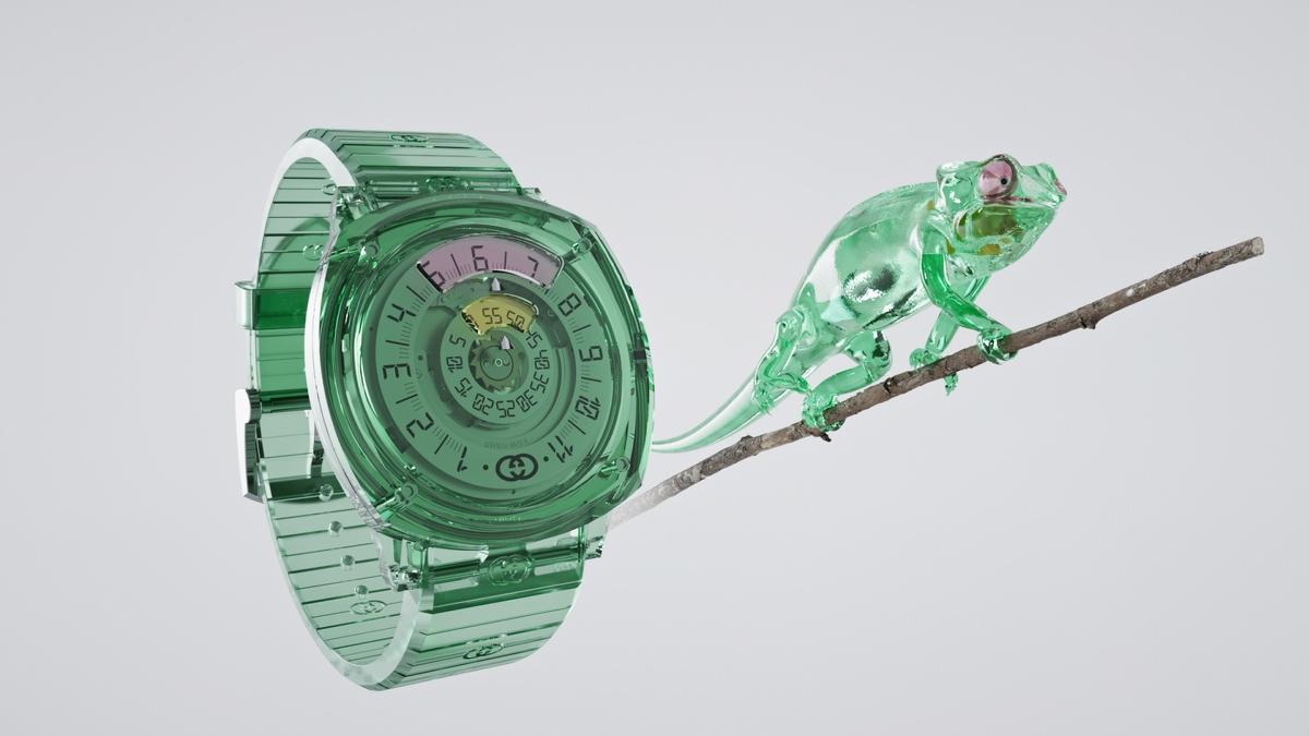 超薄機芯打頭陣    Gucci晉升高級製錶殿堂