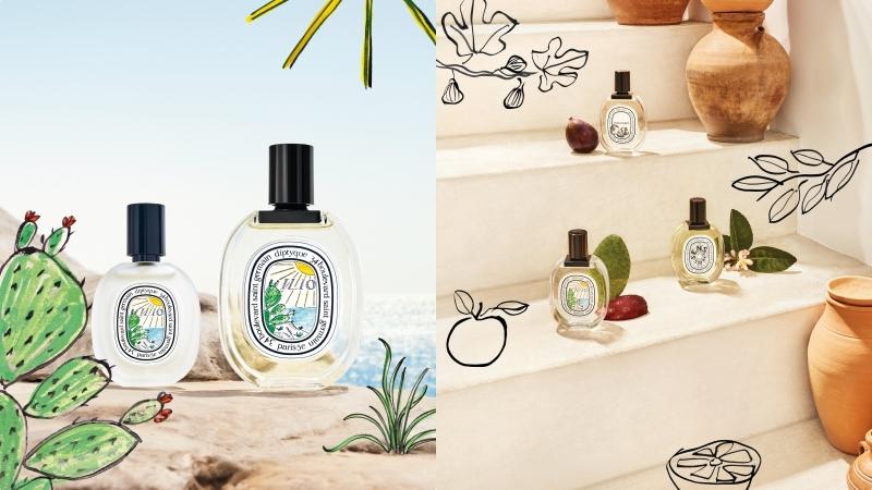 diptyque限量夏季系列又一波!在家也能享受仙人掌與陽光的味道,還有超實用身體噴霧絕要收!