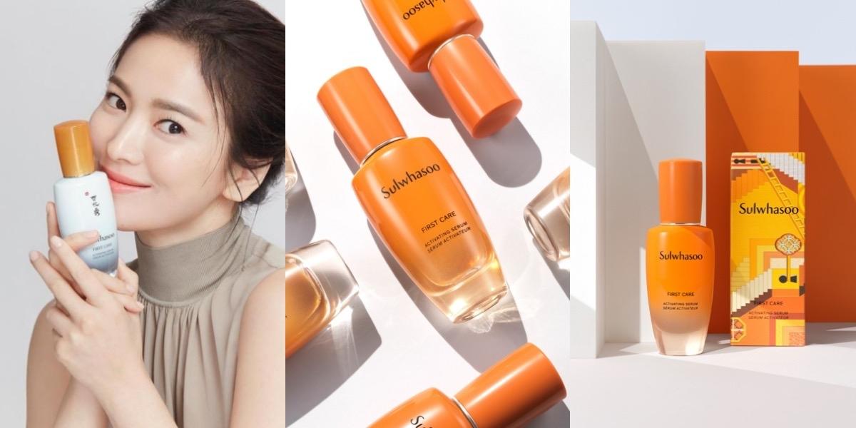 跟著宋慧喬用「橘拿鐵養膚瓶」,給肌膚滿滿超能量,暗沈疲憊通通掰!