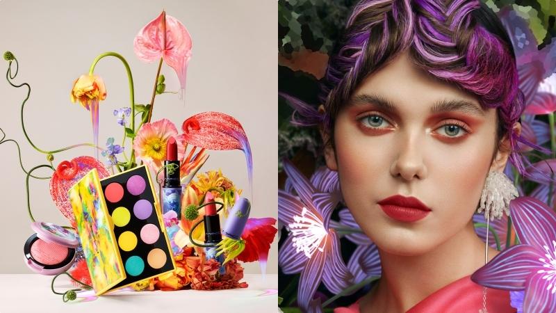 不能出門踏青,那就把化妝台放上 『M·A·C奇幻花園系列 』,打造自己的彩妝花園小天地吧!