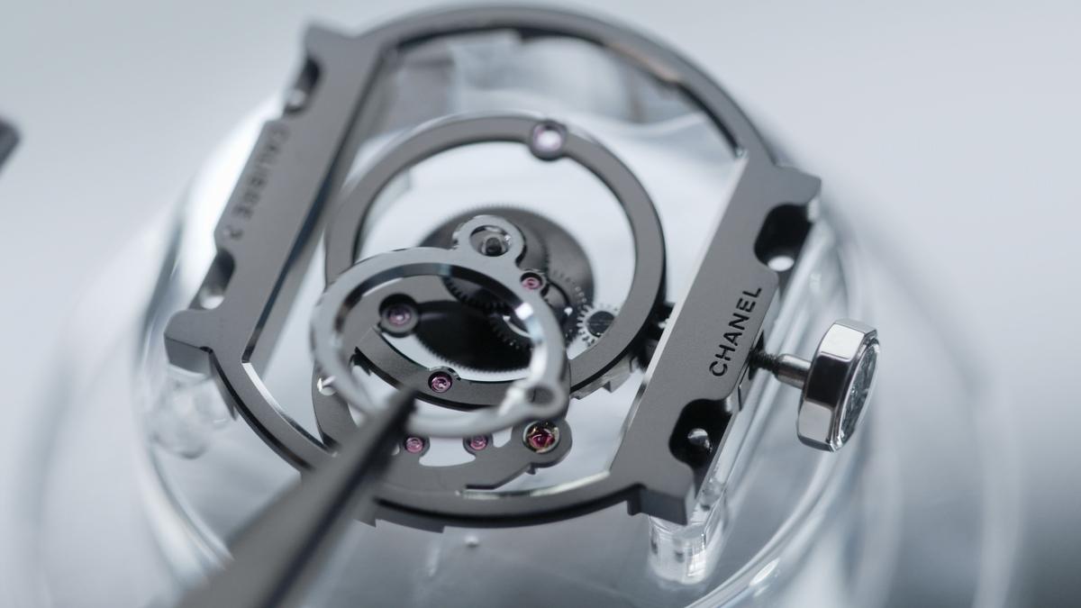 創藝而自由  香奈兒2021高級製錶新作透芯美
