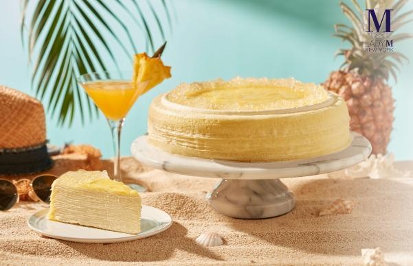 Lady M全球獨家開賣!夏季新品「鳳梨千層、芒果起司慕斯」充滿水果香+療癒蛋糕,全台門市開放外帶