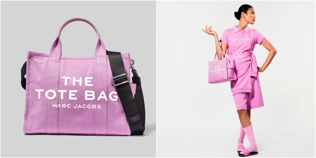 怪不得這麼熱賣!Marc Jacobs 超火托特包色系整理,每一款都療癒又可愛