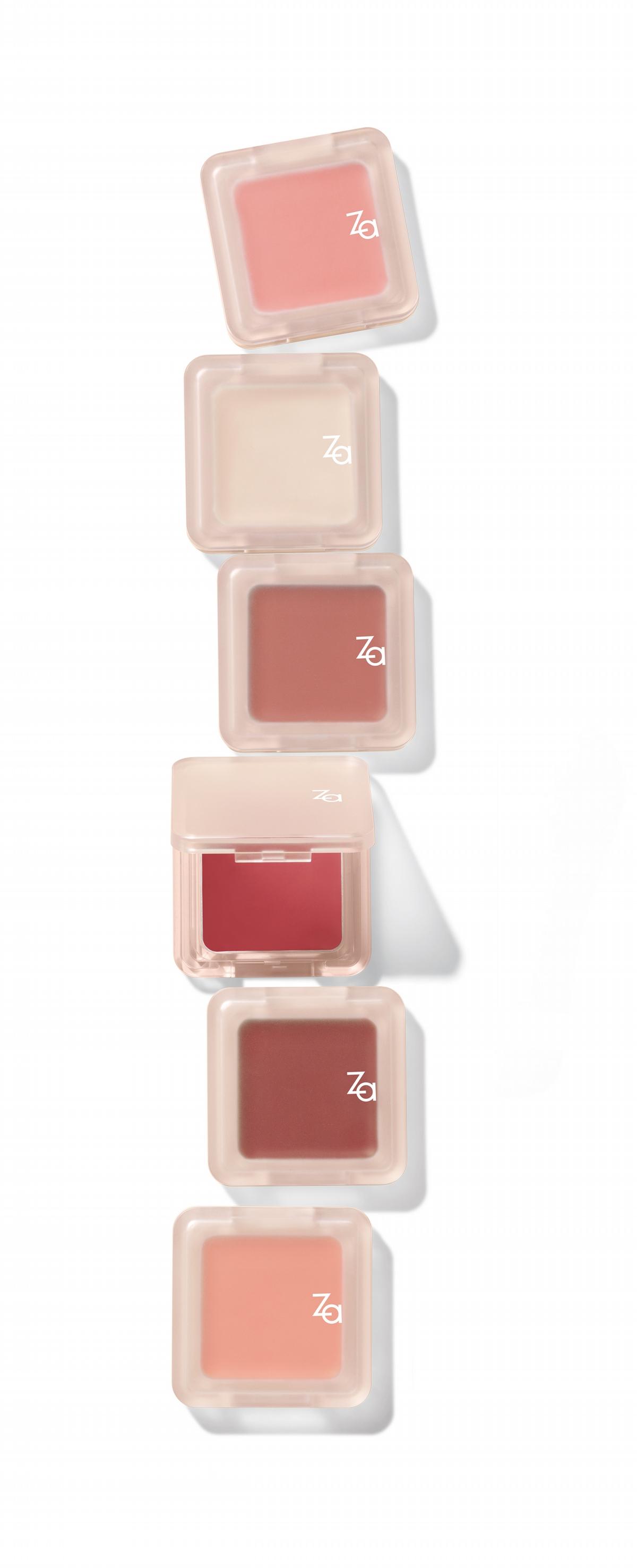 ZA 6款特調腮紅霜超生火!一抹臉蛋立即膨膨好像蘋果肌,顯色又服貼, 「#04烏龍茶酒」、「#05粉紅香檳」必買