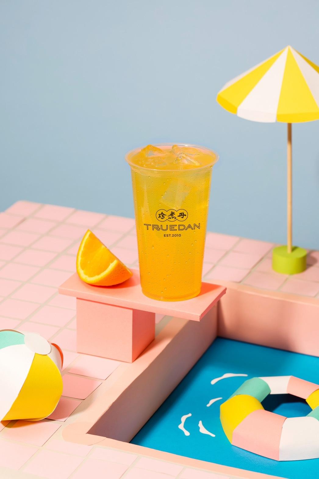珍煮丹柳橙、葡萄柚、百香果夏日果茶系飲品新登場「胭花芭檸雪沙」強勢回歸!加入會員即享買二送一優惠!