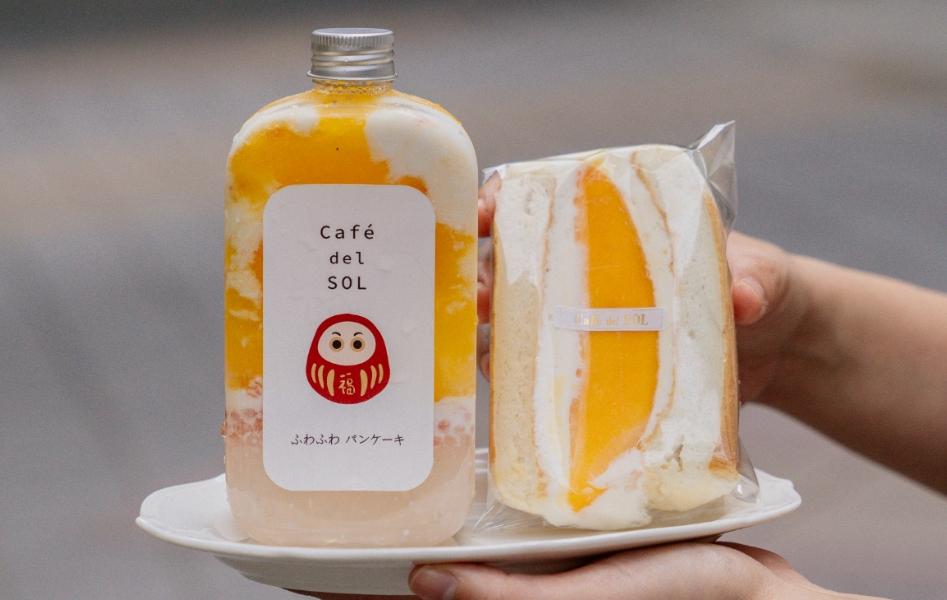 紅遍台日「舒芙蕾三明治」每日限量20份外帶外送!Café del SOL主打芋泥布丁、芒果、紅豆4大口味,甜點控一吃就愛上