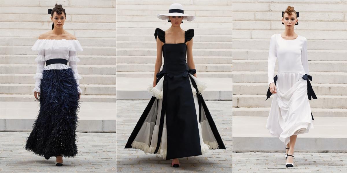 Chanel 2021秋冬高訂大秀 走入印象派畫中的璀璨