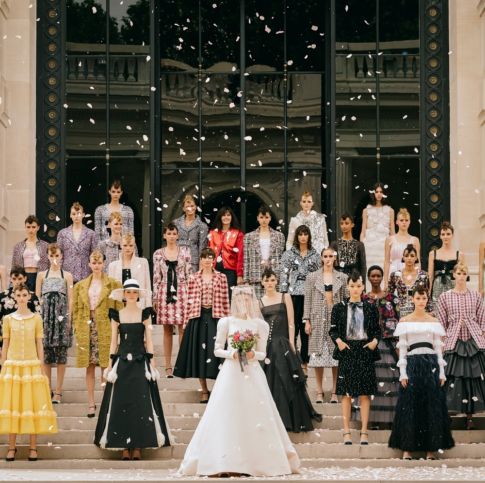 Chanel秋冬高訂 走入印象派畫中的璀璨 絕美造型一次看!