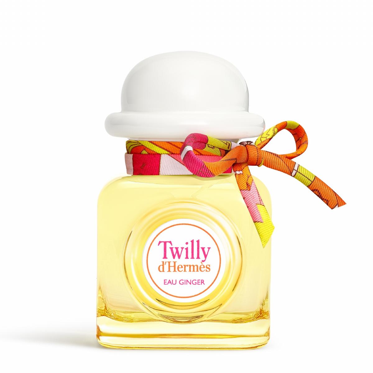 愛馬仕可愛的絲意系列第三款香氛willy Eau Ginger 淡香精來了!清淡粉嫩色系搭配溫柔雪松,夏天就是要這種味道!