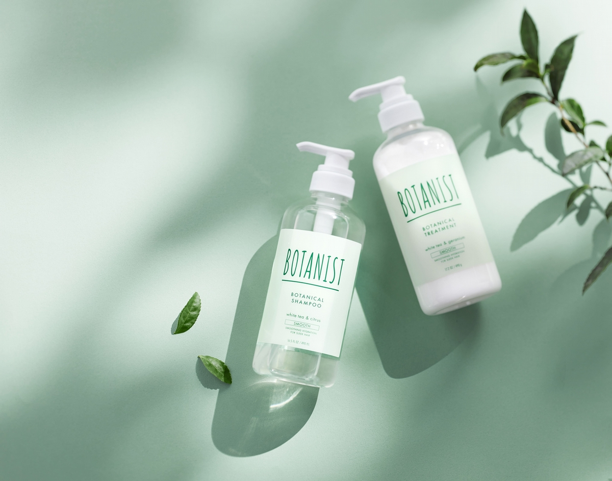 風靡日本,白茶搭配薄荷的Botanist清新白茶系列,讓你髮香清新回頭率百分百