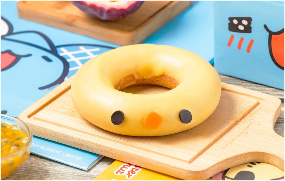 貓貓蟲咖波 X Mister Donut聯名3款造型甜甜圈、4款限量週邊!「咖波甜甜圈靠枕、咖波小提袋」超萌必收
