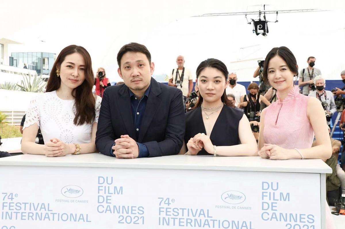 袁子芸優雅征戰坎城影展!新片驚豔外媒 記者會後專程稱讚
