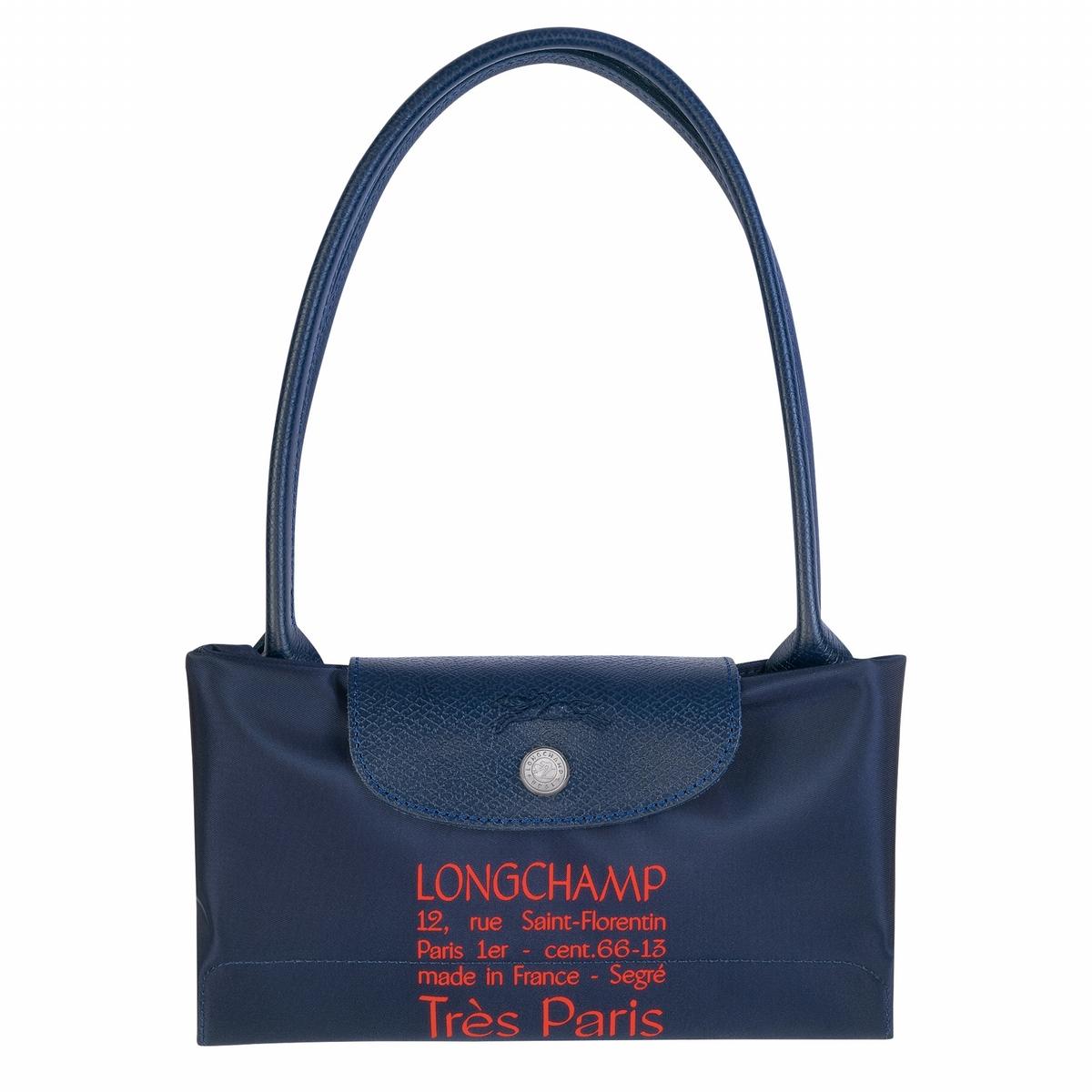 Longchamp摺疊包推法國國慶限定款  紅藍白配色滿溢法式情懷