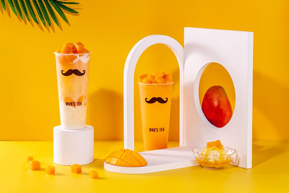 鬍子茶夏季限定超人氣芒果、西瓜飲料重磅回歸! 西瓜檸檬青、雪霜芒果滿杯水果太享受!