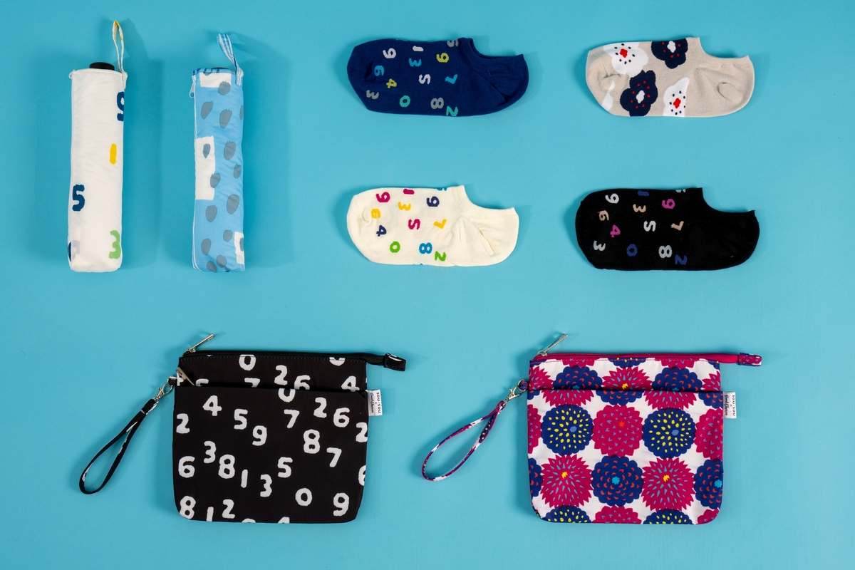 7-11 限定SOU・SOU第二波聯名來啦! 短襪、運動毛巾、兒童雨衣19款獨家商品開賣!