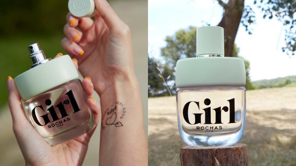 女孩必備的ROCHAS GIRL 羅莎女孩淡香水,最紓壓,最天然,天然橙花香氣給你滿滿正能量