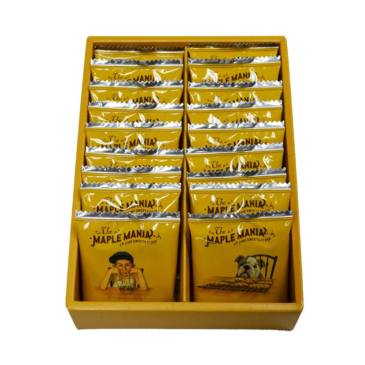 這天開賣快筆記!東京必買伴手禮「The maple mania 楓糖男孩」楓糖奶油餅首次在台快閃販售!