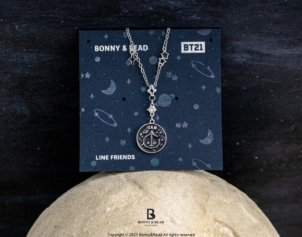 少女別走開!BONNY&READ與BT21聯名推出口罩鍊,限定星空飾品也超生火