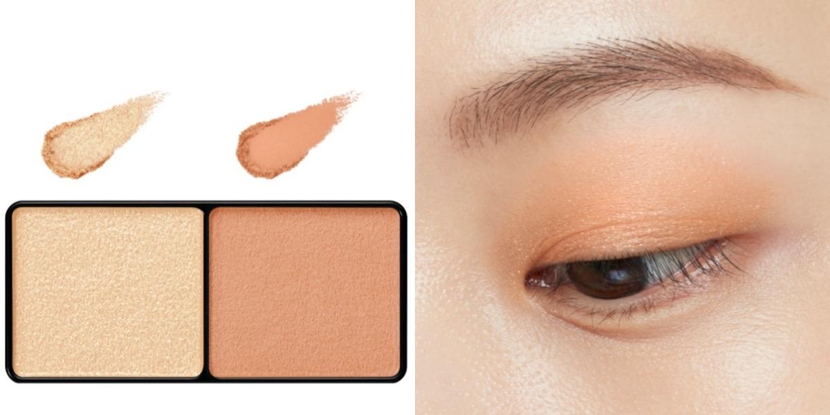 這個秋天妝容必備:俐落原生立體眉+暖調橘金裸色眼+時髦烤奶色唇,快點跟起來!