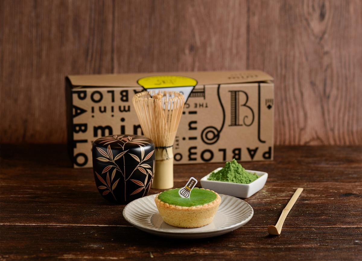 PABLO x 辻利茶舗首度聯名  「抹茶芋泥起司塔、一番茶迷你塔」抹茶控必吃!
