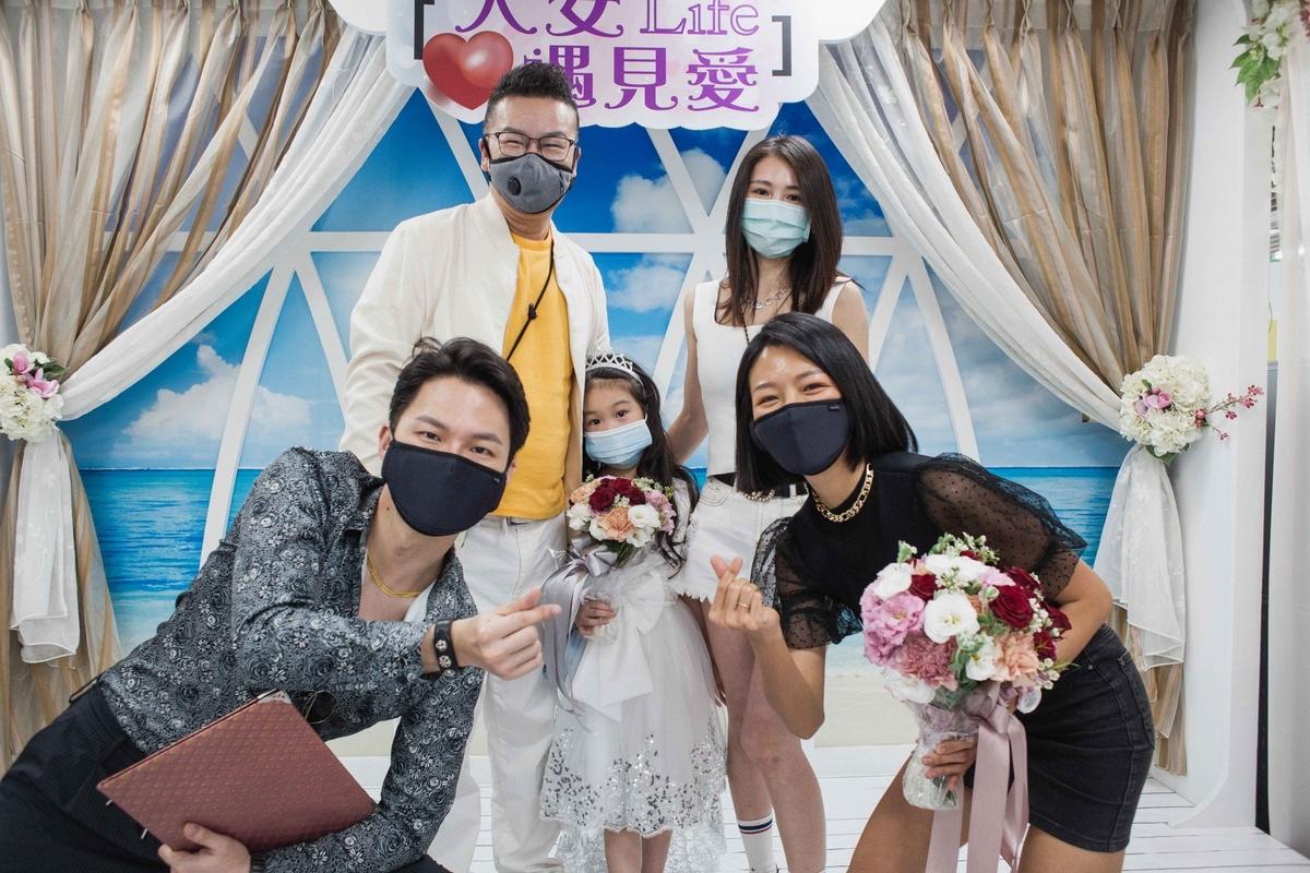 楊昇達生日升格結婚紀念日!娶回名模若綺愛情長跑7年成正果