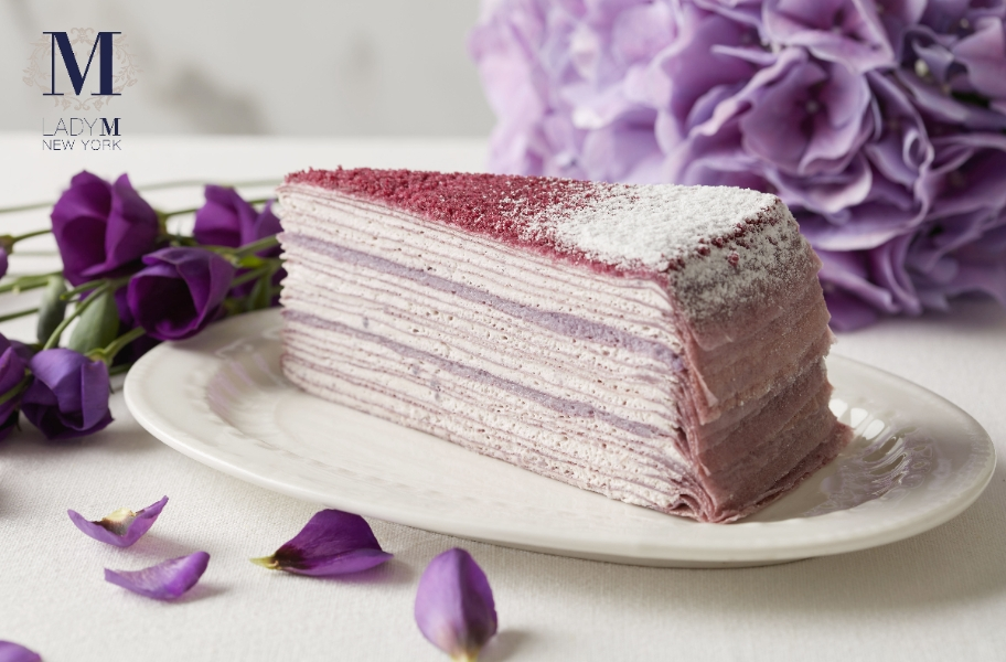 Lady M -紫薯千層、莓果蒙布朗
