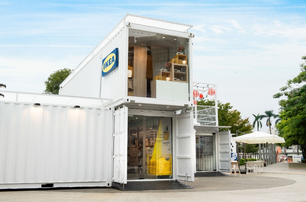 全球首家「IKEA Hej行動商店」嘉義開幕!7座純白貨櫃+瑞典招呼語必打卡,消費滿額贈鯊魚口罩、帆布包