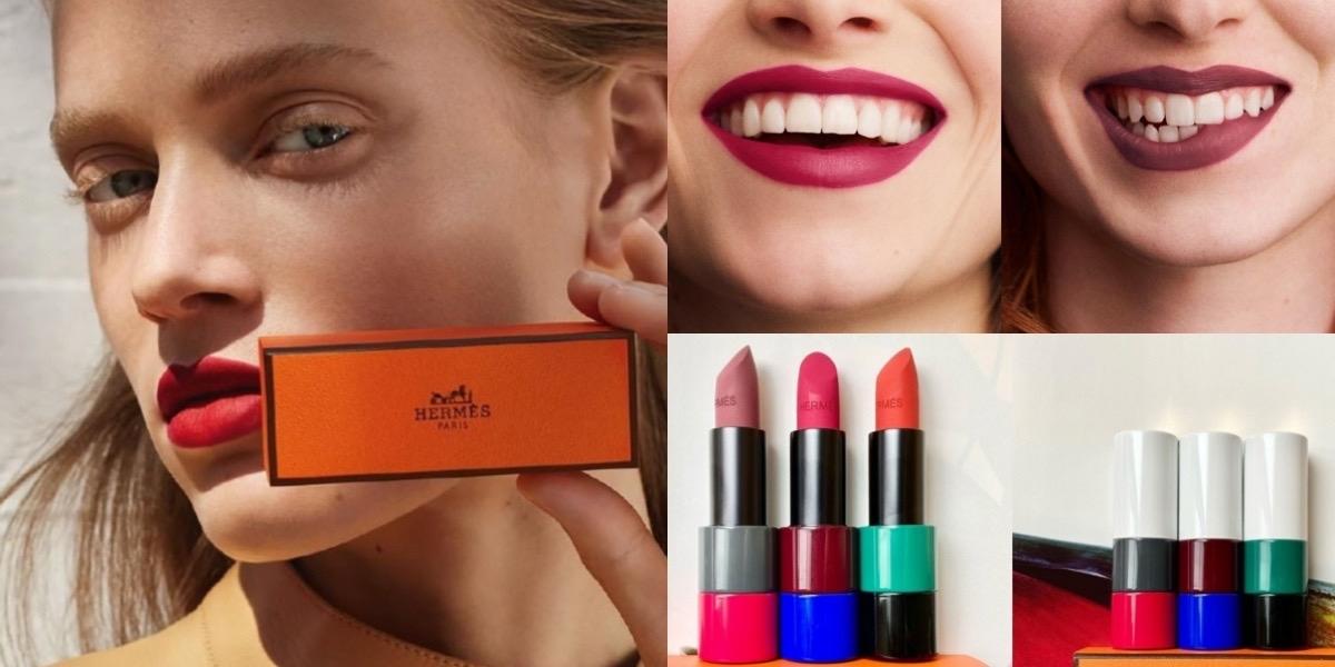 愛馬仕唇膏今年秋冬必入手的就是『玫瑰色』,讓妝容更顯嬌嫩的內斂質感!
